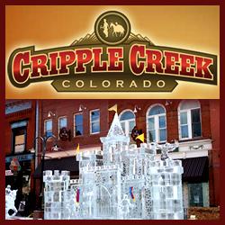 Cripple Creek Colorado Ice Festival