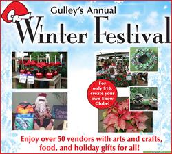 Gulley Greenhouse Winter Festival